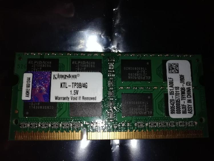 Memoria Ram Ddr3 4 Gb para Portatil Kin