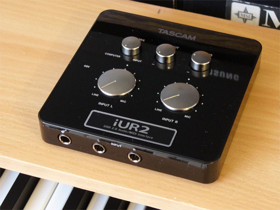 TASCAM iUR2 interface de audio usb compatible ProTools