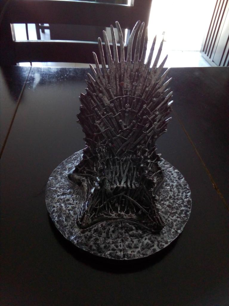 Trono De Hierro De Game Of Thrones