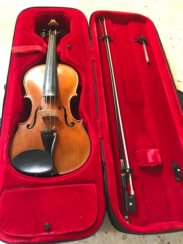 Vendo Violin Aleman 4/4 Excelente Sonido