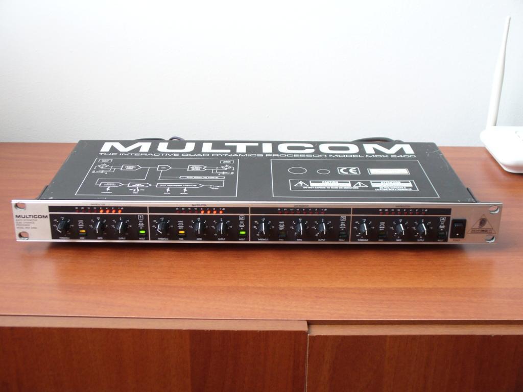 compresor de audio de 4 canales Behringer Multicom