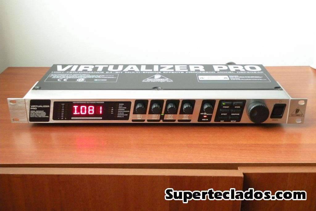 procesador multiefectos Behringer Virtualizer Pro 200