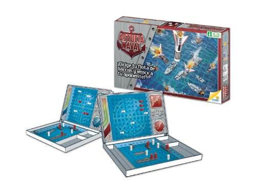 Astucia Naval -juego De Mesa Batalla Naval Ref 50413