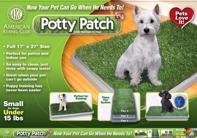 Potty Patch: Tapete Baño Entrenador Para Mascota 63x48x7cm