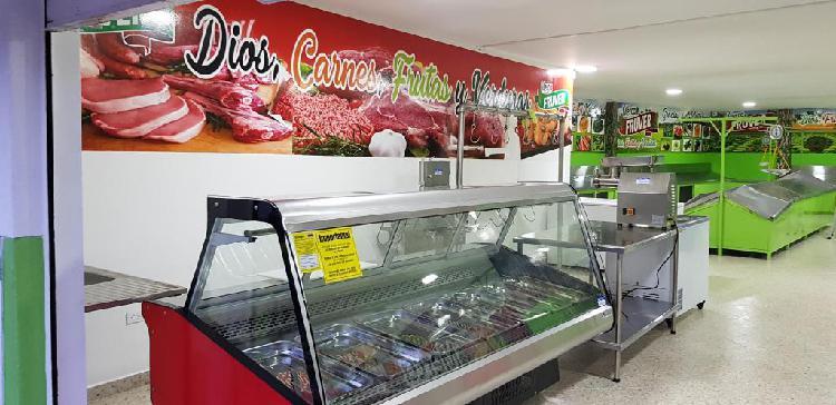 Se vende negocio acreditado para la venta de carnes