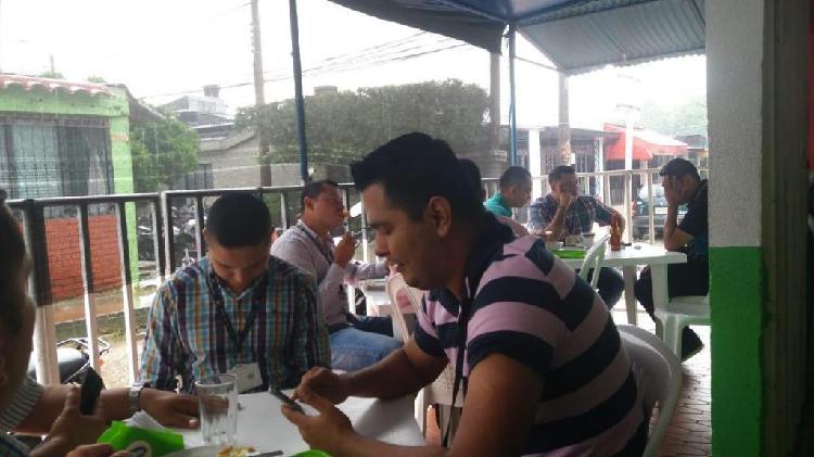Se vende restaurante en la entrada de la Sijin Villavicencio