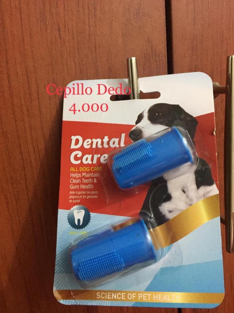 cepillo dental perros y gatos de dientes para dedo x 2 ud