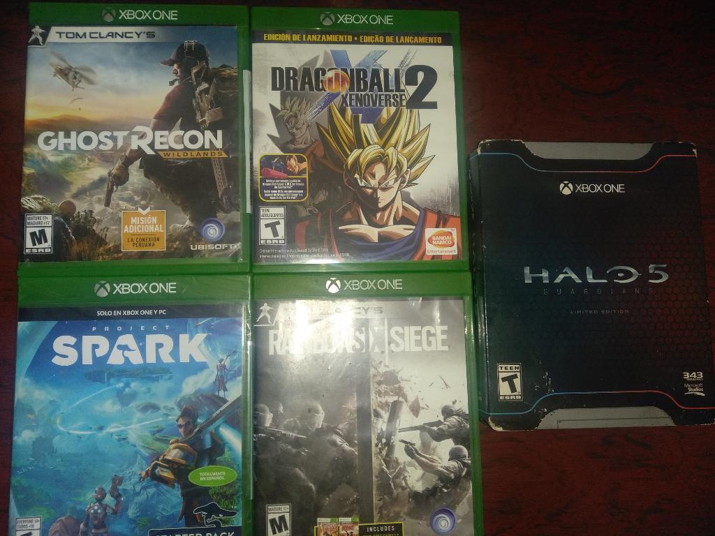 Juegos para Xbox One desde 40 Mil