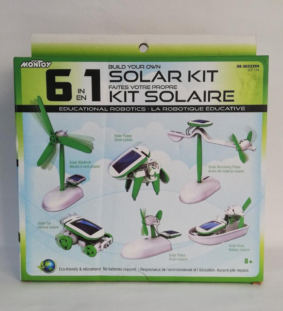 Kit de Robotica 6 en 1