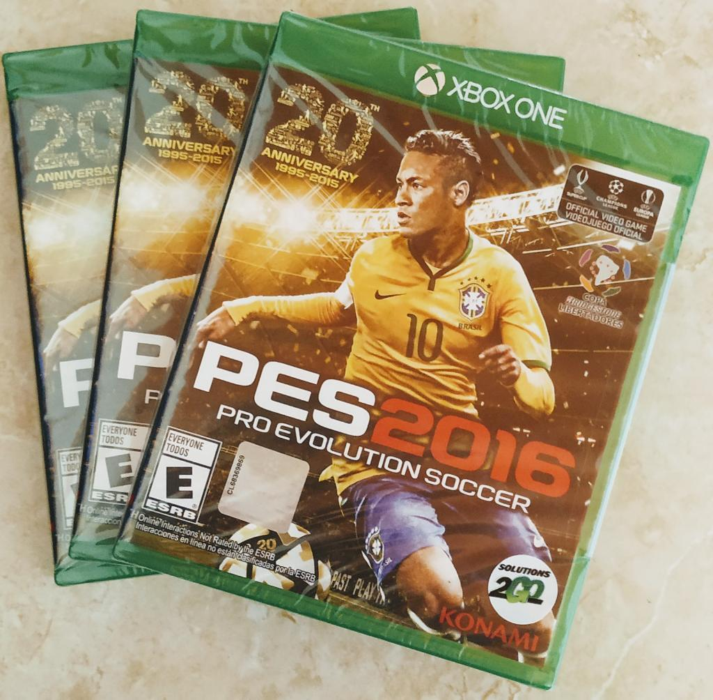 Pes  Xbox One Original Nuevo Sellado
