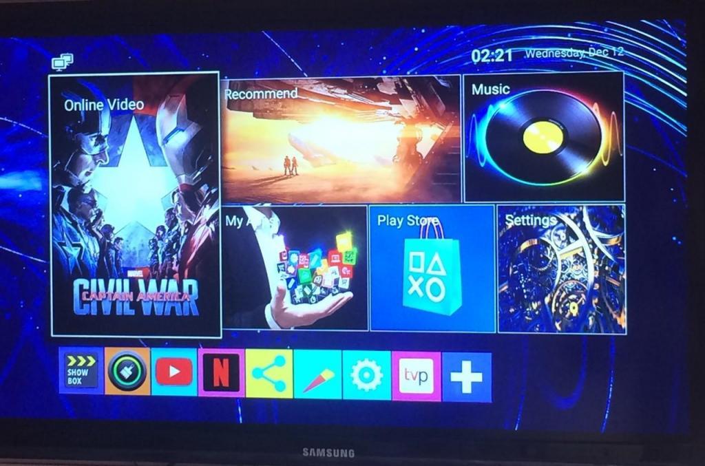 TT TV BOX MXQ PRO 4k.