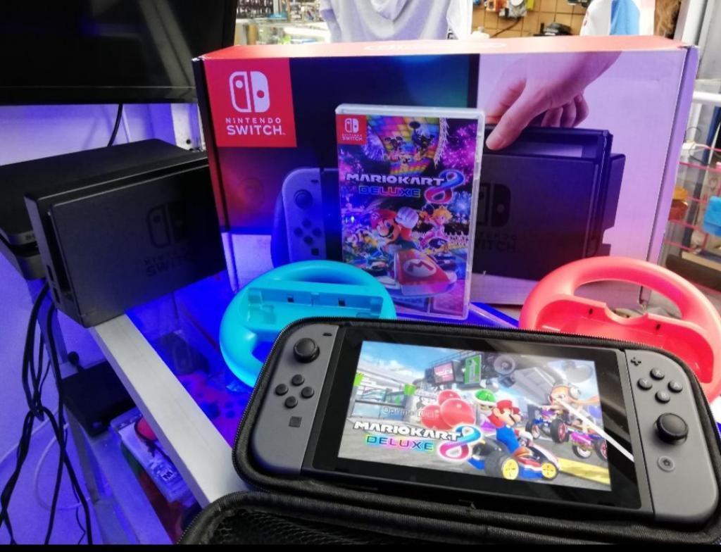 Vendo O Cambio Nintendo Switch Y Mario K