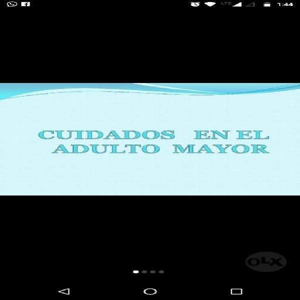 Cuidados Al Adulto Mayor