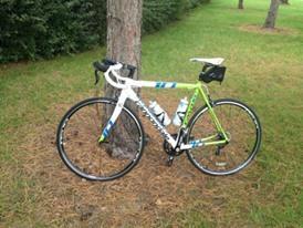 bicicleta carreras cannondale caad aluminio rin 700