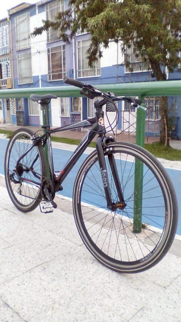 bicicleta rin 28 jeep aluminio grupo deore