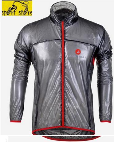 chaqueta impermeable 100 castelli con aero ventilas