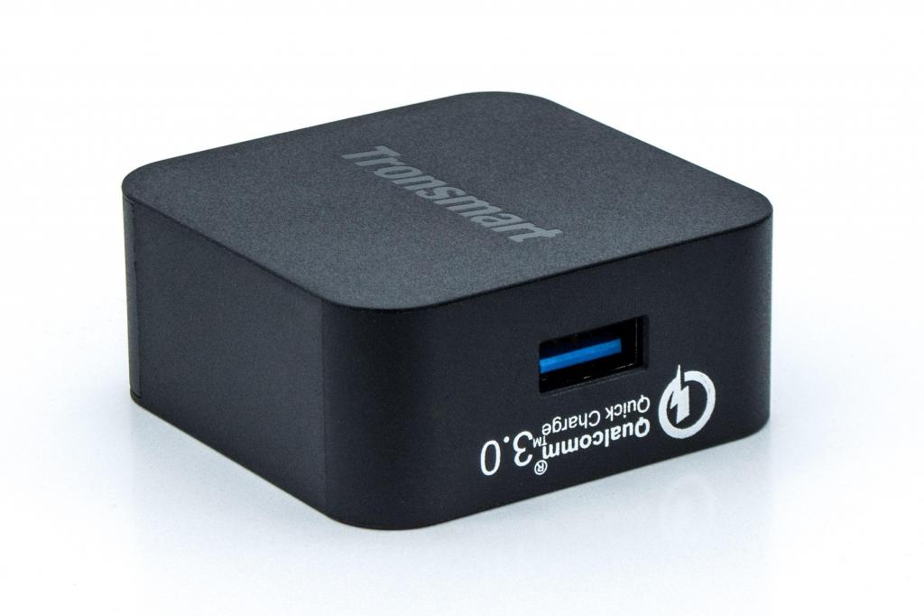 Cargador Carga Rápida 3.0 Tronsmart Cable Microusb Y Tipo C