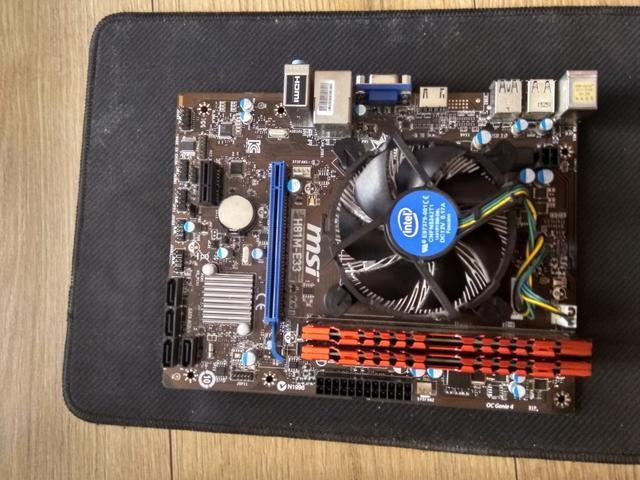 Combo Board Msi H81m E33 Mas I5 4460 3.20 Ghz