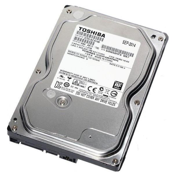 Disco Duro Sata De 500 GB 7200 Rpm Toshiba, Western Digital