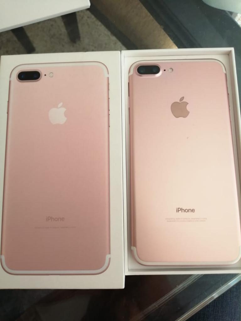 iPhone 7 Plus 128gb Oro Rosa Perfecto