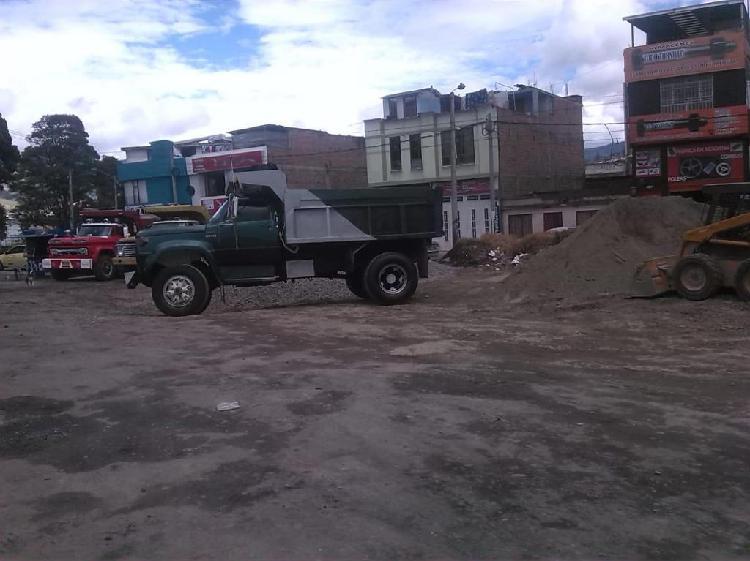 SERVICIO DE VOLQUETA Y VENTA DE MATERIALES DE CONSTRUCCION