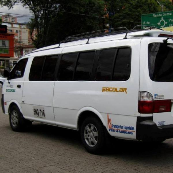 Servicio Transporte hasta 19 Pasajeros
