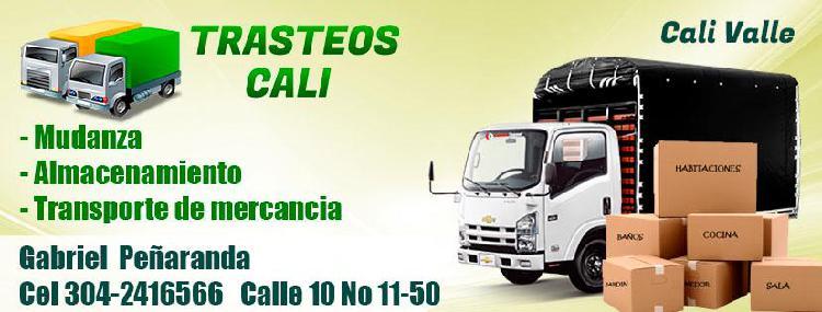 Trasteos y Mudanzas para hogar y oficina Valle del Cauca.