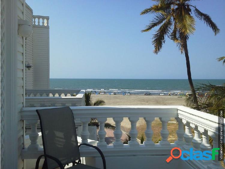 Casa Frente a la Playa en Cartagena - Zona Norte