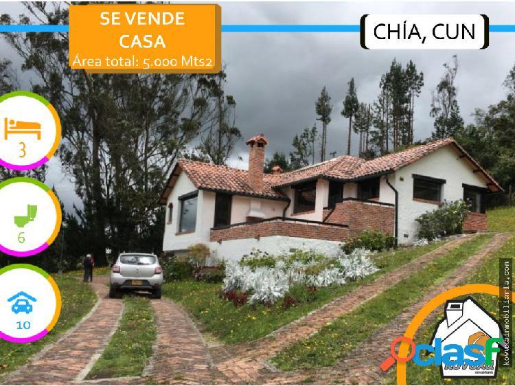 Casa en Venta en Chia - Yerbabuena