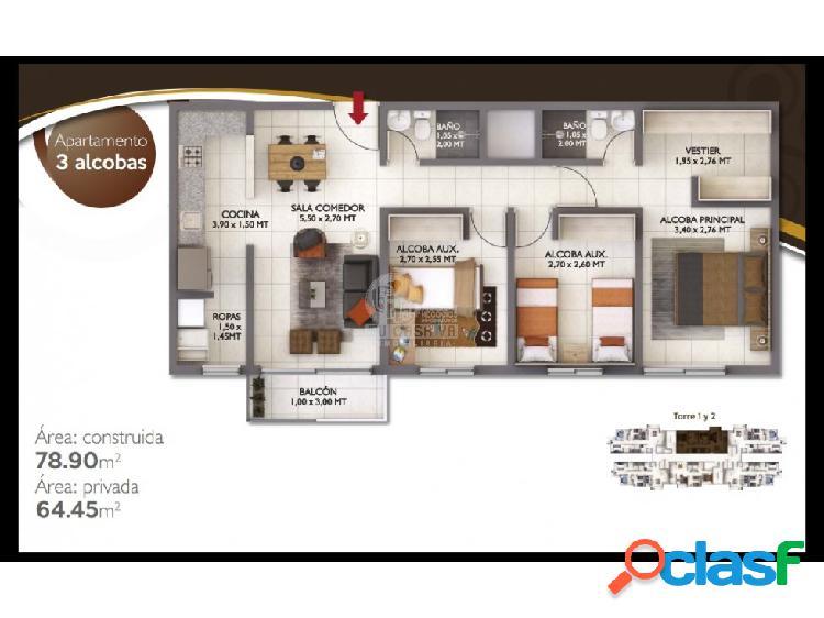 Excelente oportunidad apartamento Teka