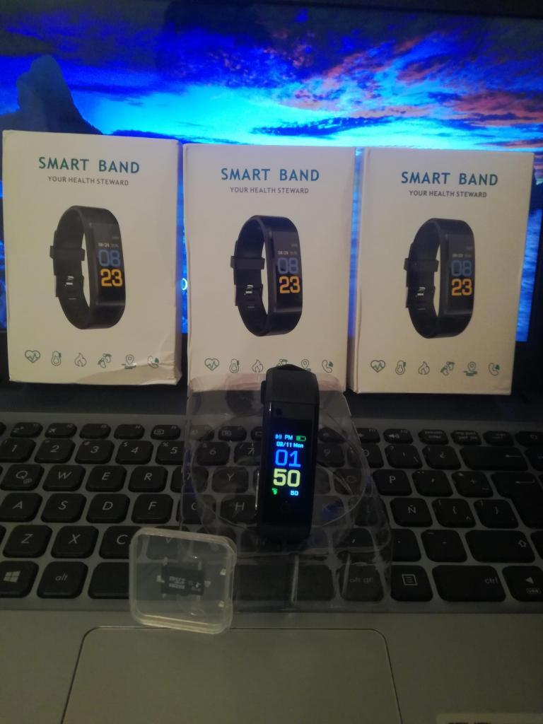 Smartband pulsera inteligente micro sd 8 GB clase 10