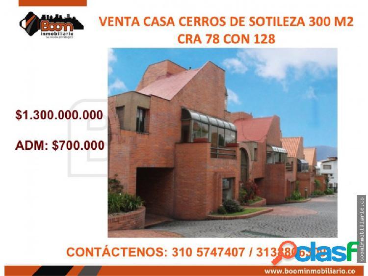 **VENTA CASA CERROS DE SOTILEZA 300 M2