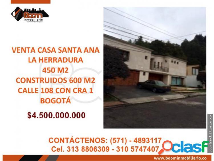 **VENTA CASA SANTA ANA ORIENTAL 600 M2