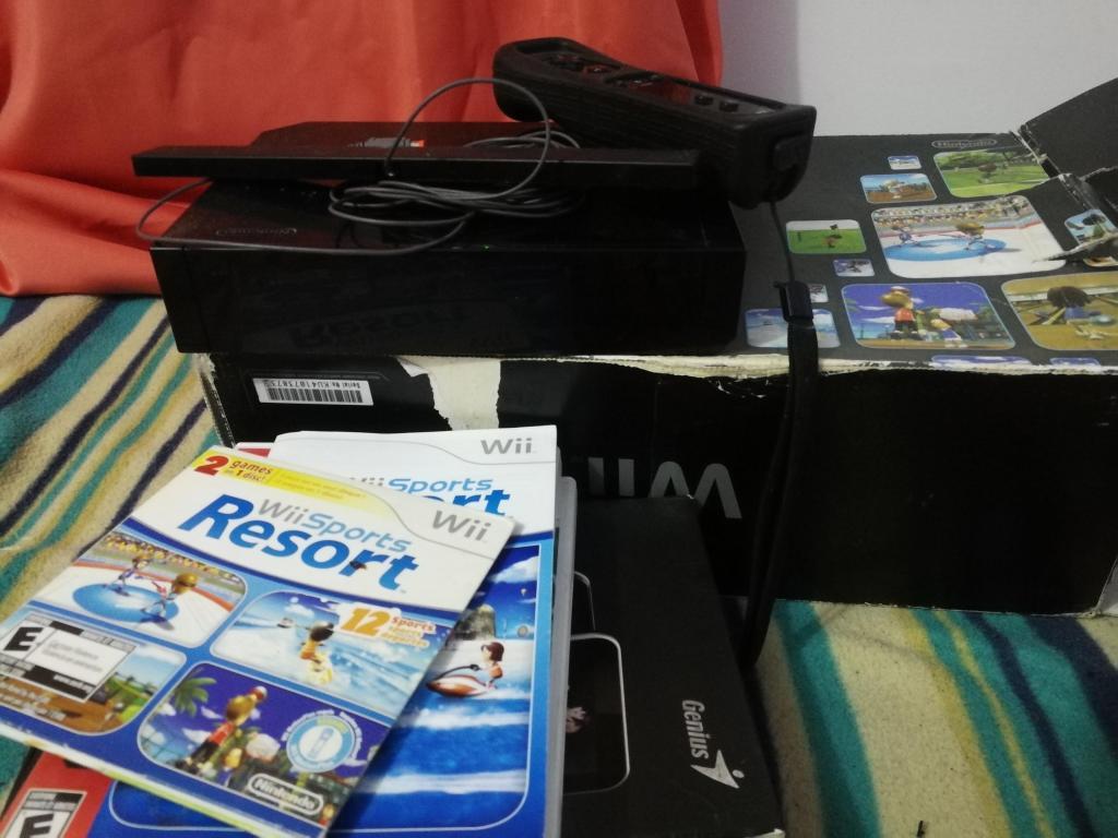 Consola Wii Nintendo juegos incluidos