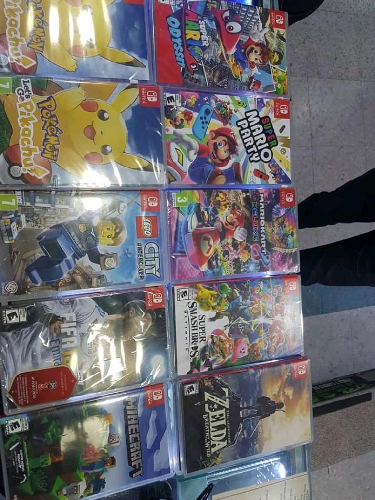 Juegos Nintendo Switch desde