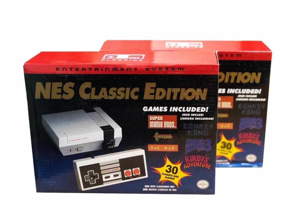 Nintendo NES Classic Edition 30 Juegos Clásicos Incluido 1