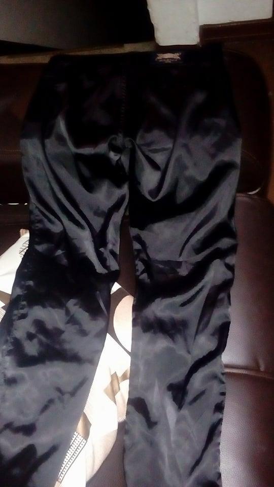 pantalon elegante negro talla 8
