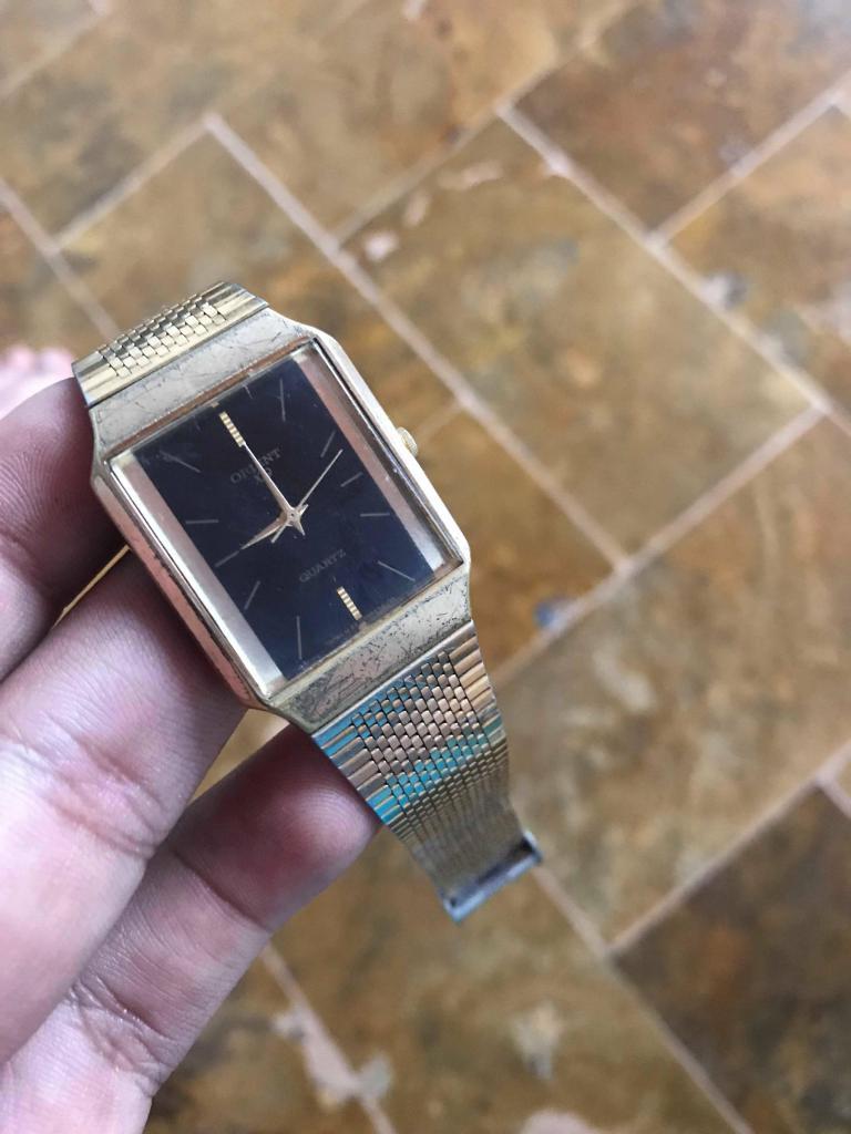 reloj orient vintage original