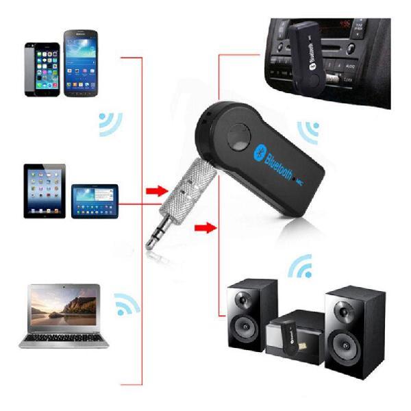 Adaptador Receptor Bluetooth con Micrófono Nuevo