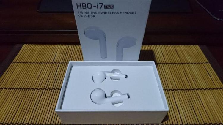 Audífonos Hbq I7 Bluetooth Inalámbrico Los 2 Auriculares