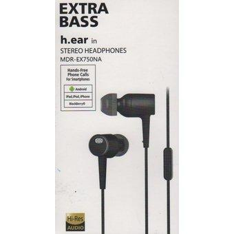 Audifonos H.ear Mdrex750na Con Auriculares