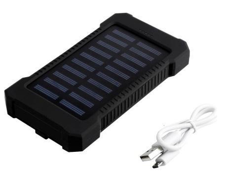 Cargador Externo panel Solar bateria Power Bank 30000 mah