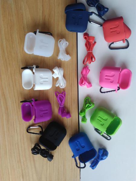 Funda Airpods con cable para audifonos y cargadera