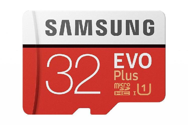 Memoria Micro Sd Samsung Evo Plus 32 Gb, Clase 10 UHS 1, FHD