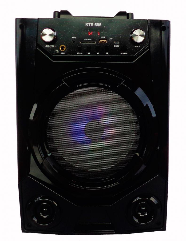 Cabina De Sonido Parlante Portable Bluetooth Con Karaoke Y