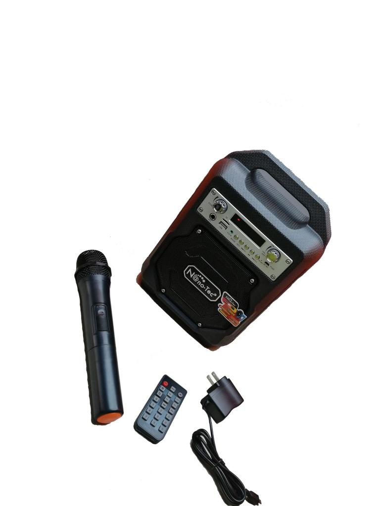 Cabina De Sonido Parlante Recargable Con Bluetooth