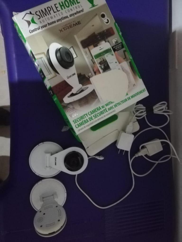 Camara De Seguridad Simplehome Wifi 720p Xcs Deteccion