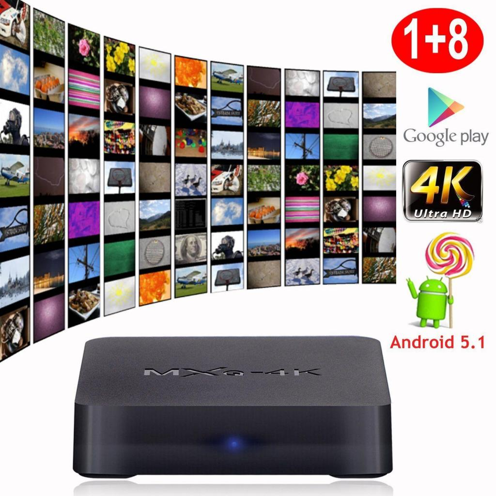 Convertidor A Smart Tv Box 4k Ultra Hd Android 7.1