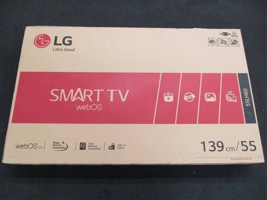 NO usado LG smart de 55 pulgadas en caja sellada