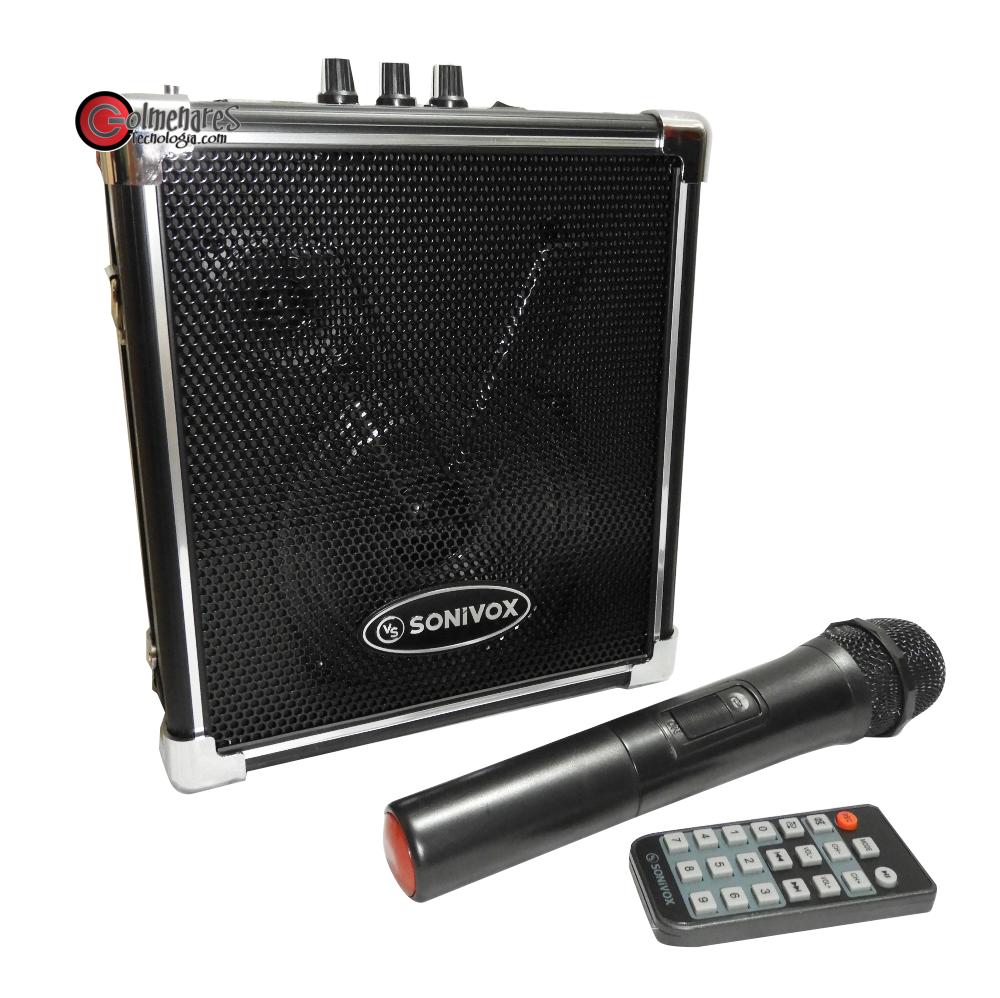 Parlante Recargable Portatil Karaoke Bluetooth / Fm / Usb /